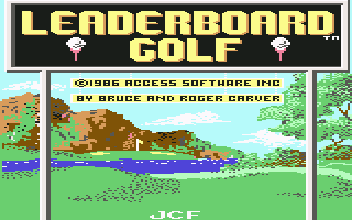 Leaderboard Golf title